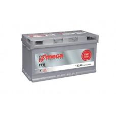 Аккумулятор А-Mega 6CT-110Ah R+ 970A (EN) EFB