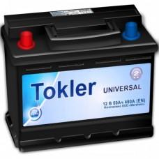 Аккумулятор TOKLER UNIVERSAL 6CT-60Ah L+ (1) 480А EN