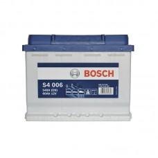 Аккумулятор Bosch S4 (S4006) 6СТ-60Ah L+ 540A (EN)