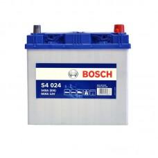 Аккумулятор Bosch S4 (S4024) 6СТ-60Ah JR+ 540A (EN)