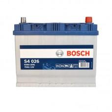 Аккумулятор Bosch S4 (S4026) 6СТ-70Ah JR+ 630A (EN)