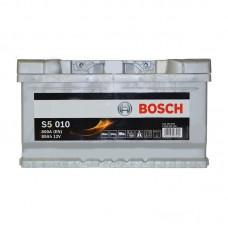 Аккумулятор Bosch S5 (S5010) 6СТ-85Ah R+ 800A (EN) низкобазовый