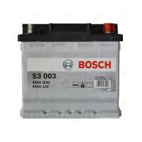 Аккумулятор Bosch S3 (S3003) 6СТ-45Ah L+ 400A (EN)
