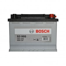 Аккумулятор Bosch S3 (S3005) 6СТ-56Ah R+ 480A (EN)