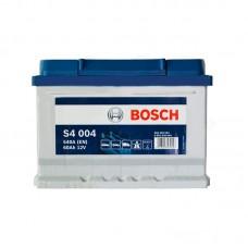 Аккумулятор Bosch S4 (S4004) 6СТ-60Ah R+ 540A (EN) низкобазовый