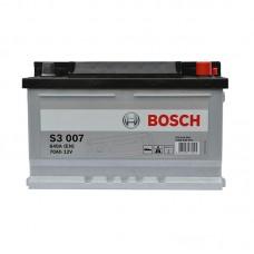 Аккумулятор Bosch S3 (S3007) 6СТ-70Ah R+ 640A (EN) низкобазовый