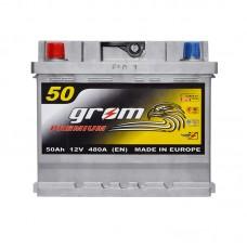 Аккумулятор Grom Premium 6СТ-50Ah L+ 480A (EN)