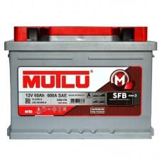 Автомобильный аккумулятор Mutlu SFB (Ser3) 6CT-55Ah R+ 540A (EN) низкобазовый