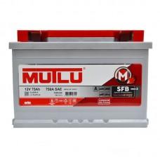 Автомобильный аккумулятор Mutlu SFB (Ser3) 6CT-75Ah R+ 720A (EN)