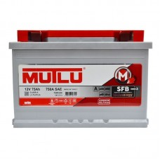 Аккумулятор Mutlu SFB (Ser3) 6CT-75Ah R+ 720A (EN)