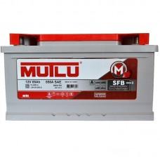 Автомобильный аккумулятор Mutlu SFB (Ser3) 6CT-85Ah R+ 800A (EN) низкобазовый
