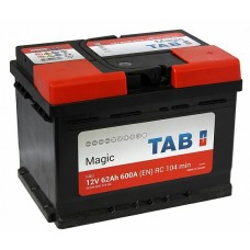 Аккумулятор TAB Magic 6CT-62Ah R+ 600А (En) низкобазовый
