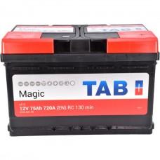 Аккумулятор TAB Magic 6CT-75Ah R+ 720A (EN) низкобазовая