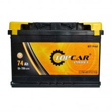Аккумулятор Top Car (M3) Profi 74Ah R+ 720A (EN)