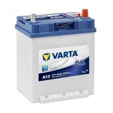Аккумулятор VARTA BD (A13) 6CT-40Ah JR+ 330A (EN) (борт)
