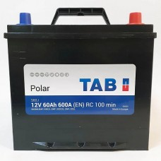 Аккумулятор TAB Polar 6CT-60Ah JR+ 600A (EN)