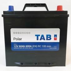 Аккумулятор TAB Polar 6CT-60Ah JR+ 600A (EN)