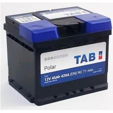 Аккумулятор TAB Polar S 6CT-45Ah R+ 420A (EN) низкобазовая