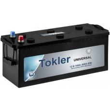 Аккумулятор TOKLER UNIVERSAL 6CT-140Ah 850A EN